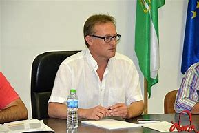 El Alcalde Álora y la Fundación.