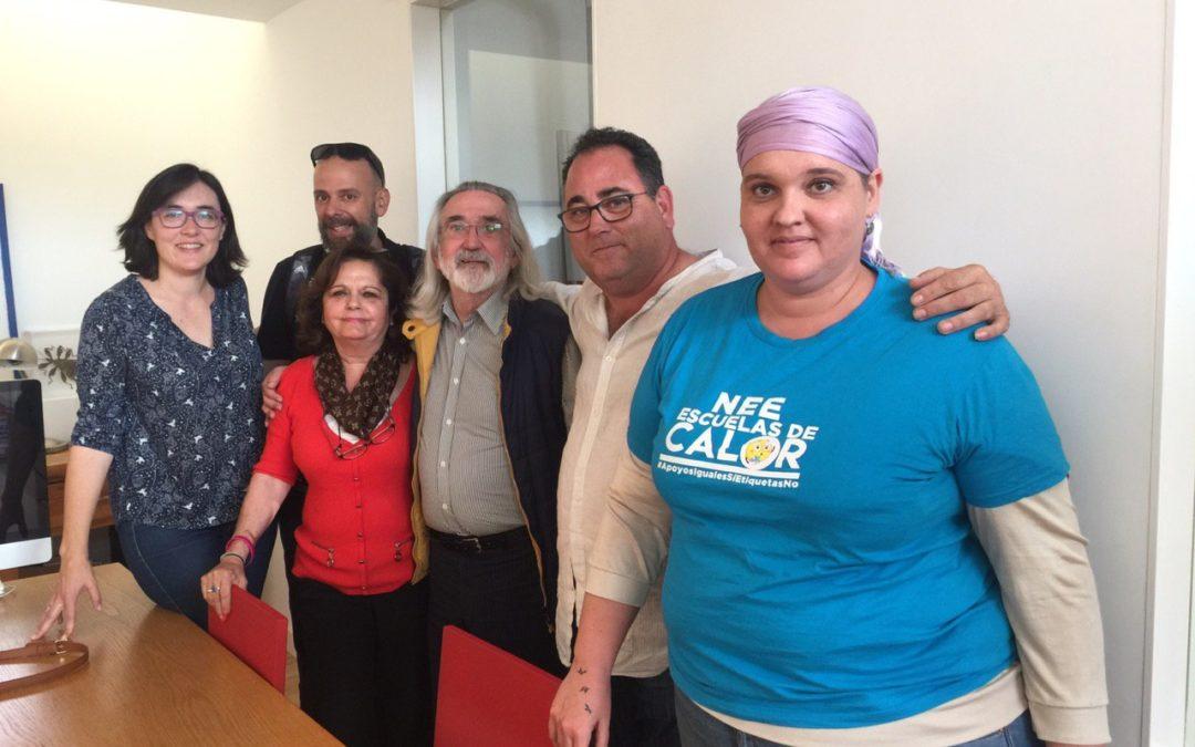Uniendo fuerzas. FAMPA Sevilla y Fundación.