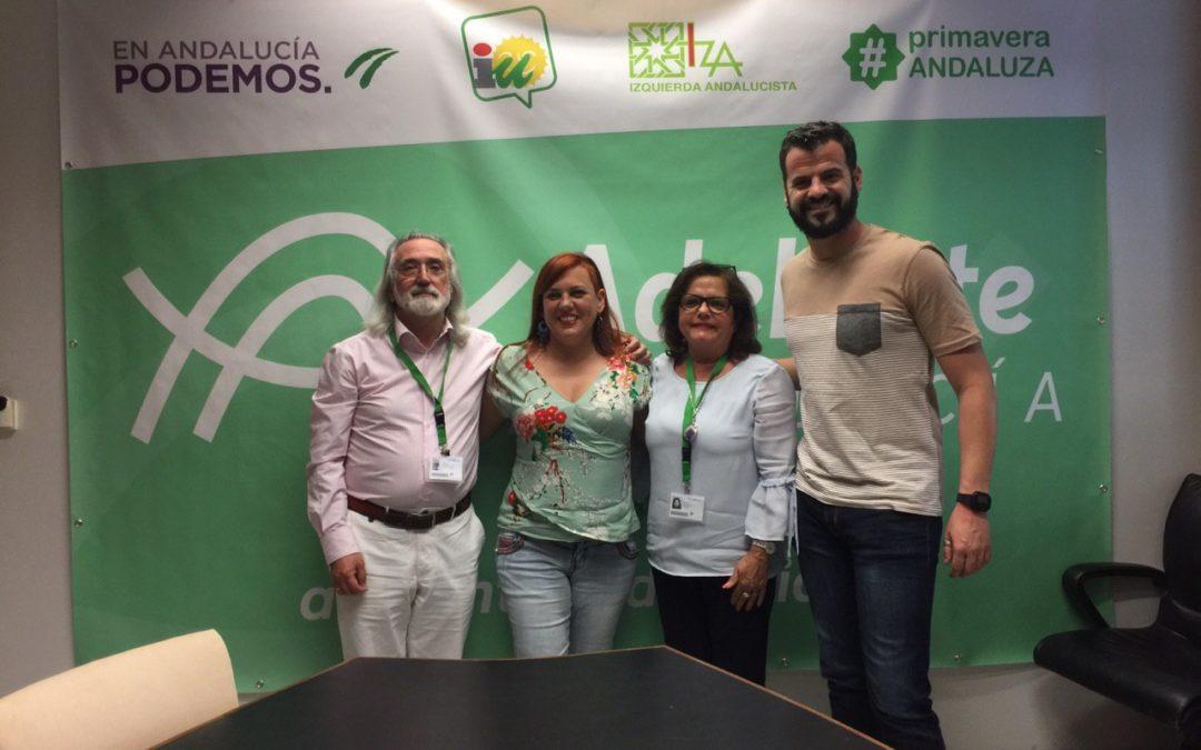 Adelante Andalucía y la Fundación Antonio Guerrero.