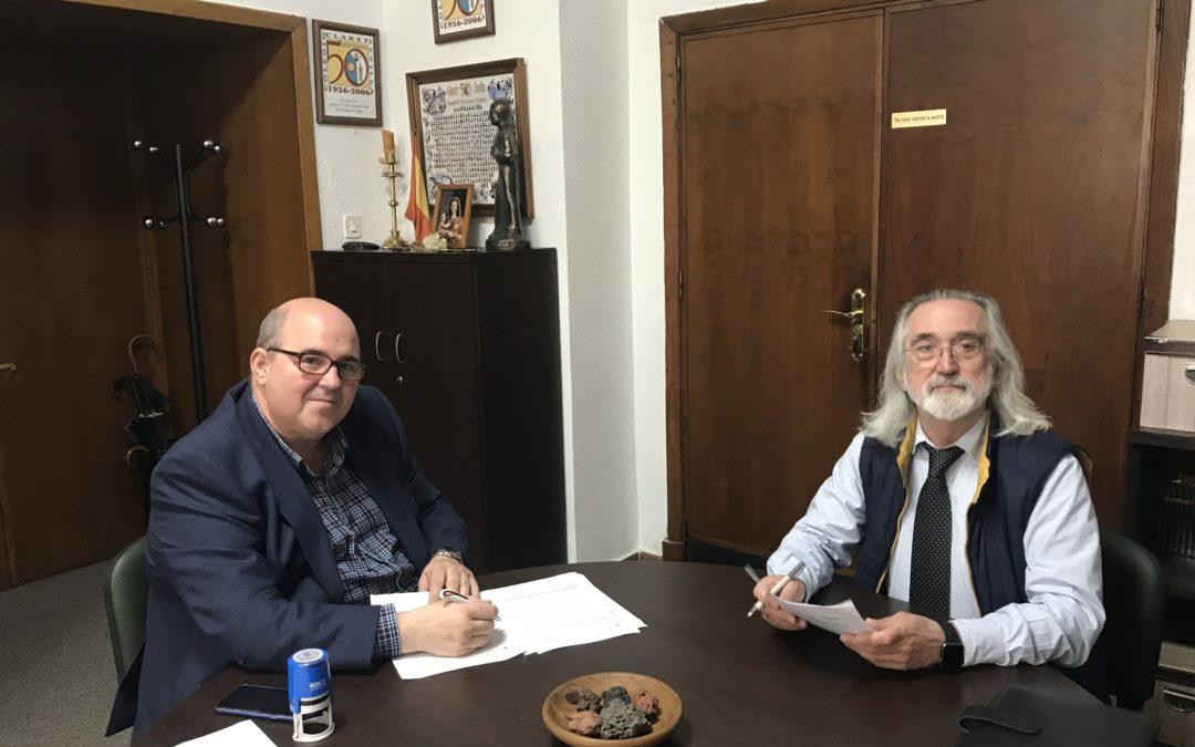 Convenio entre el Colegio Claret y la Fundación Antonio Guerrero