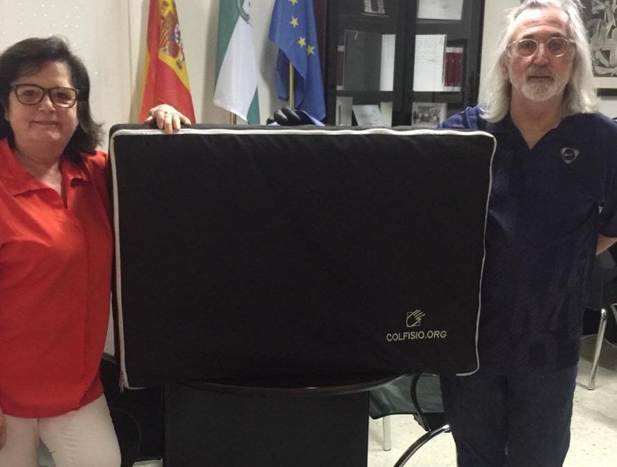 GRACIAS A COLFISIO. Colegio de Fisioterapeutas de Andalucía.