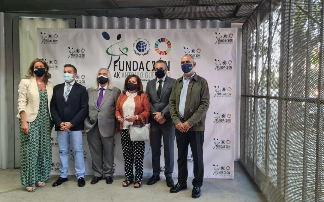 SAAC. La Fundación Antonio Guerrero y la Universidad Pablo de Olavide muestran como la tecnología abre las puertas de la comunicación